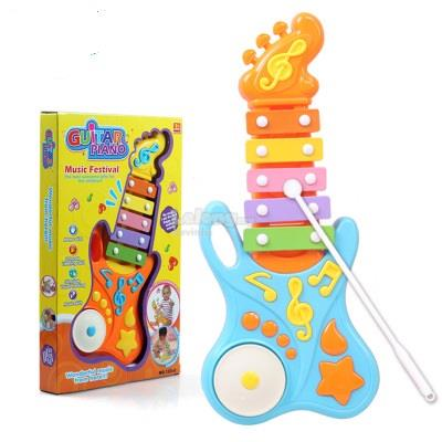 Guitar Hand Knock Piano Xylophone Kids Children Educational Toy