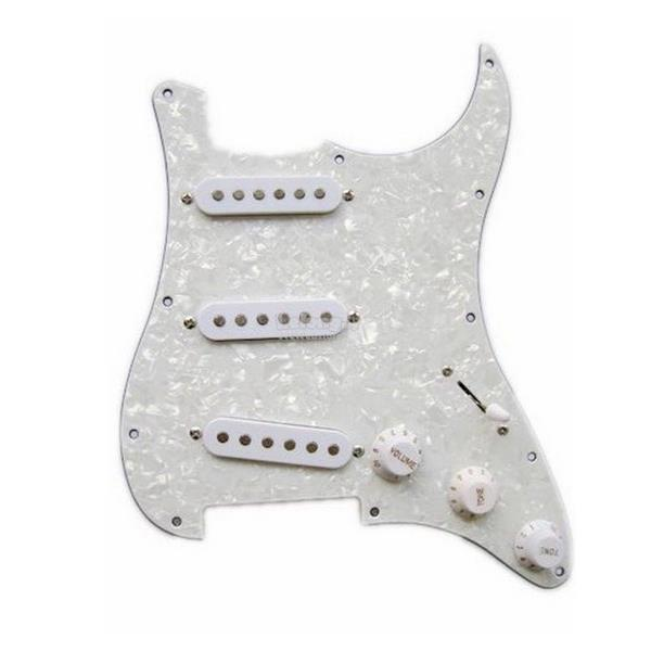 Guitar Loaded Pickguard Assembly SSS Pickups Replacement For Fender