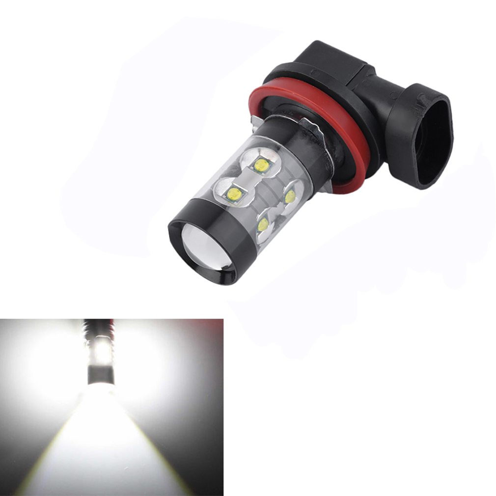 H11 H8 Car Auto Extreme Bright 50W 6000K White LED Fog Driving Lights ..
