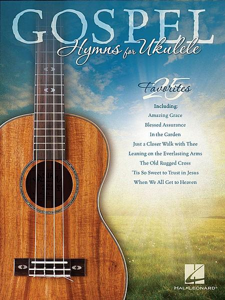 Hal Leonard Gospel Hymns for Ukulele Book