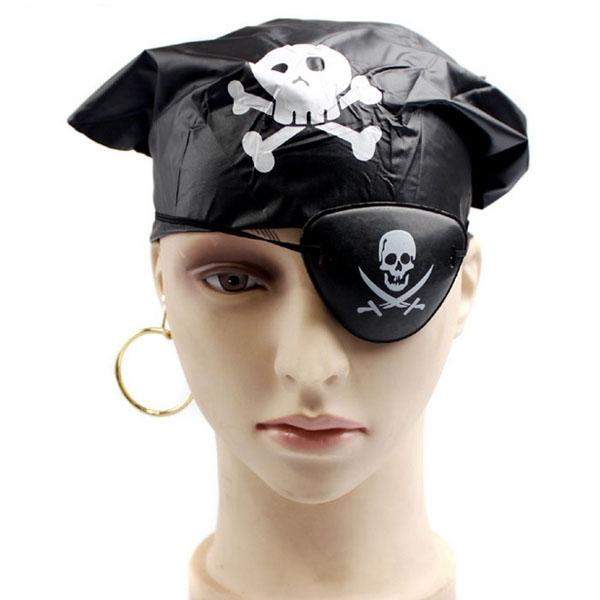 Halloween Cosplay Costume Party Children's Clothes Caribbean Pirates B
