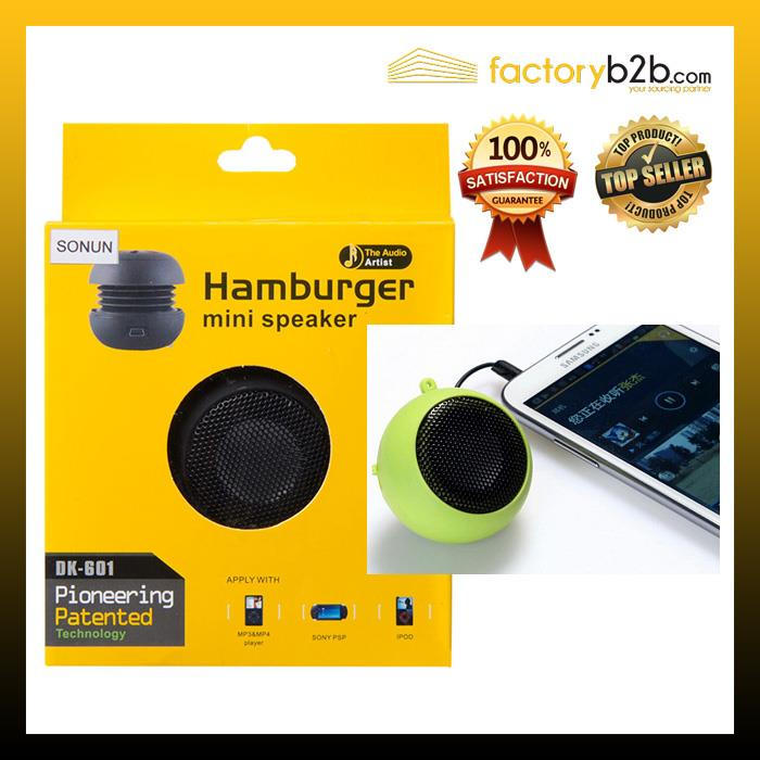 Hamburger Speaker DK-601 for iPhone iPad iPod Laptop PC MP3 Audio
