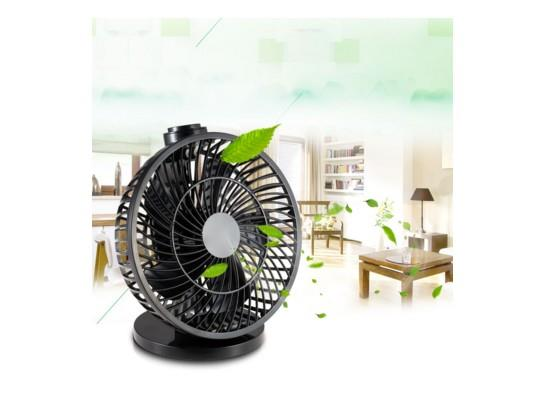 Handy White/Black Mini USB Notebook Laptop Desktop Fan