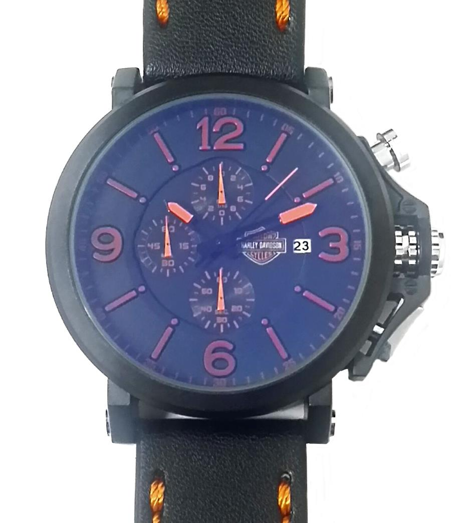 harley davidson chronograph men wat end 10 25 2015 6 15 pm harley davidson chronograph men watch rubber band leather strap