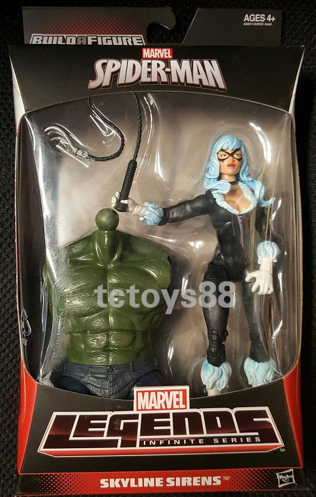 Hasbro Spiderman Marvel Legends. 'Infinite Series'. Black Cat. MIB.