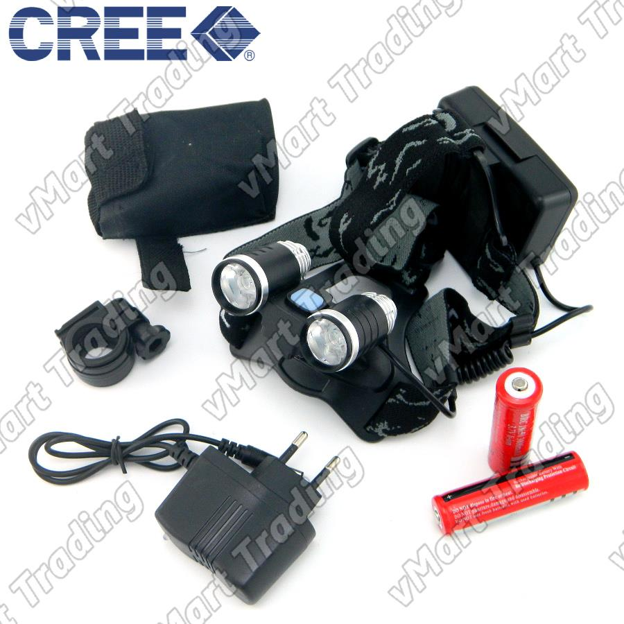 HBL-07R2 CREE XP-E R2x2 2-in-1 LED Headlamp and Bicycle Lamp