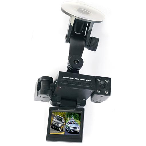 HD CARCAM Infrared Night Vision Dual Lens