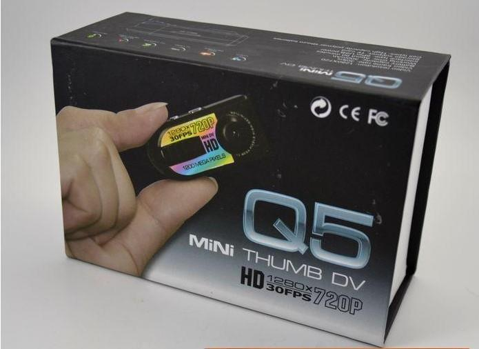 HD720P Mini DV Q5 Digital Camera Recorder With Motion Detection