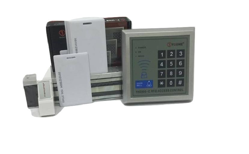 HEAVY DUT DOOR ACCESS CARD SYSTEM RFID AUTO FULLSET + 3 YEARS WARRANTY