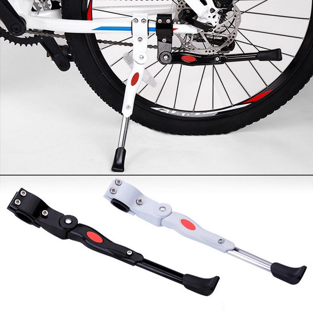 Heavy Duty Adjustable Mountain Bike Bicycle Prop Side Rear Kick Stand