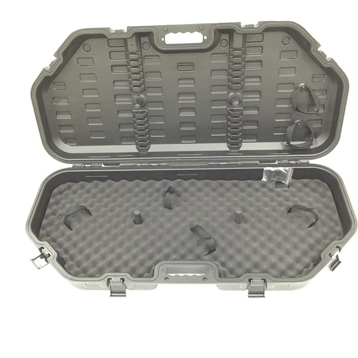 Heavy Duty Compact Hard Archery Bow Case 12 Arrows