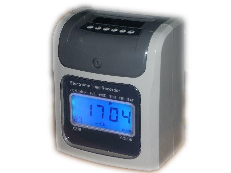 HEAVY DUTY TIME CLOCK  RECORDER + 2  YEARS WARRANTY  *** KOREA  BRAND