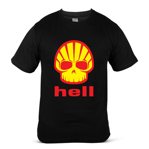 HELL Helix Ultra Car Motorcycle Petrol Engine OIL Fuel Unisex T-Shirt