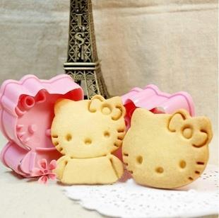 Hello Kitty Biscuit / Cookies Mould ( 2 sets)