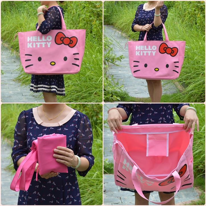 Hello Kitty Giant Canvas Bag