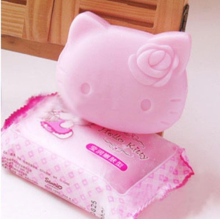 Hello Kitty Large Size Body Soap - 90 g