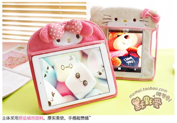 Hello Kitty Melody Panda Cartoon Ipad 2 3 4 Cover Protector