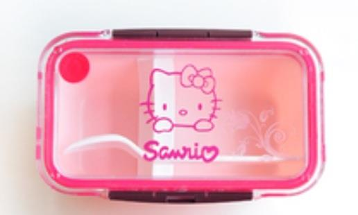 Hello Kitty Microwavable Lunch Box - Rectangle