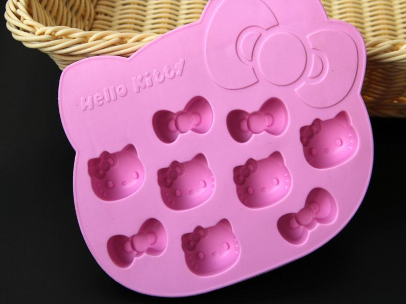 Hello Kitty Silicon Baking Jelly Ice Mold