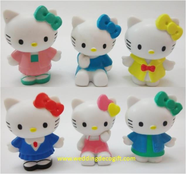 Hello Kitty Toy Figures Cake Topper - HKCT14