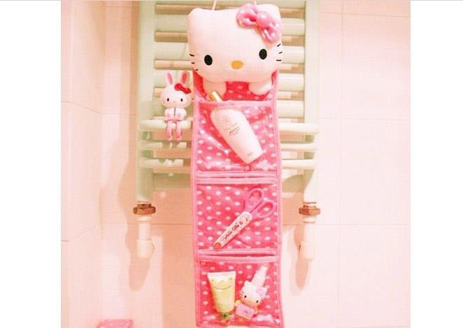 Hello Kitty Wall Hanging Storage