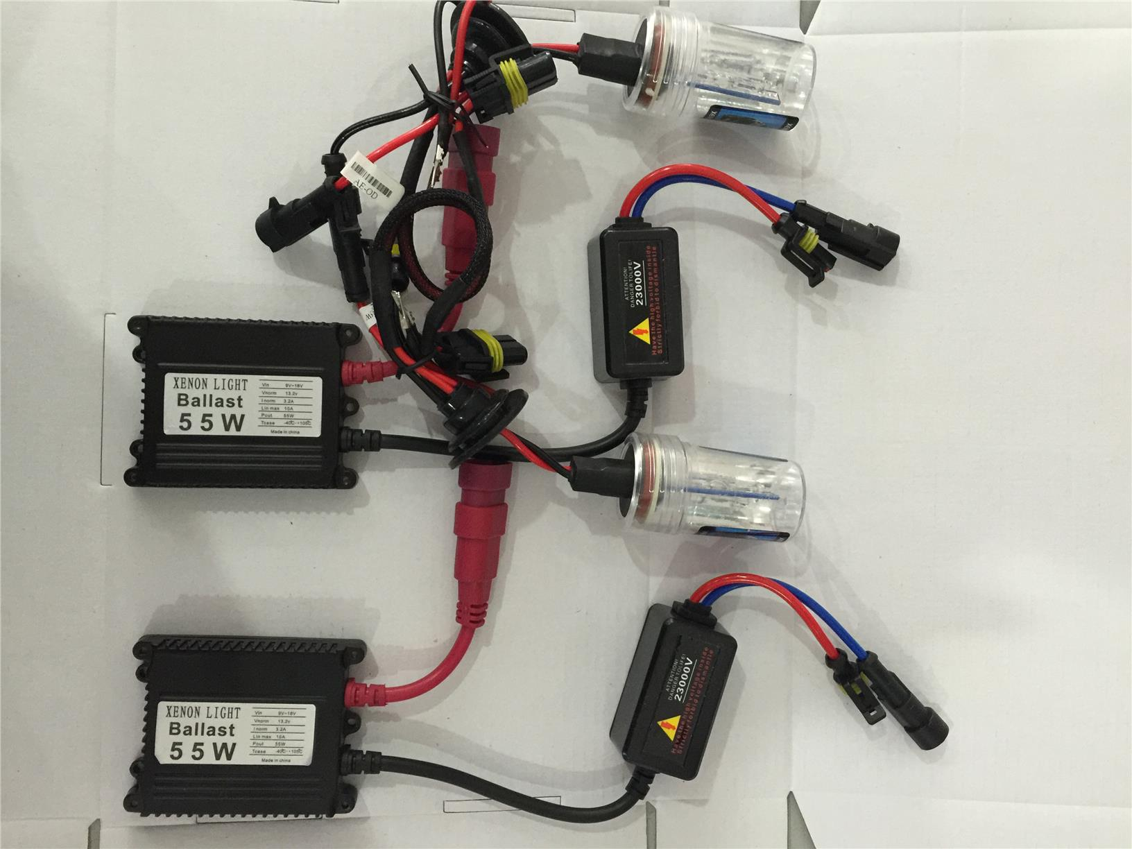 HID LED conversion kit Taiwan Made 55W AC Gred A QUALITY