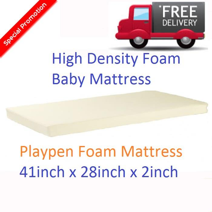 High Density Baby playpen Foam Mattress (41x28x2inch) kindergarten mat
