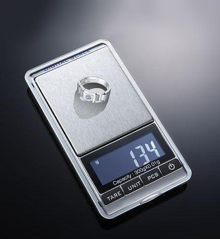 High Precision Digital Pocket jewellery weighting scale 500g x 0.01g