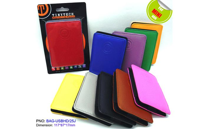 HIGH QUALITY 2.5' HDD CASE CARRYING SLOT-IN LEATHER POUCH (USBHD/25J)