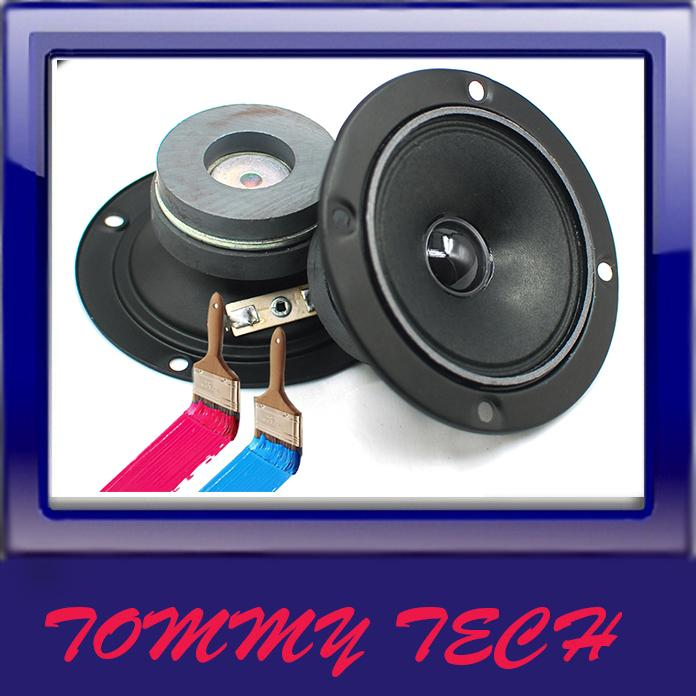 "HIGH QUALITY 4""BASS MID speaker  tweeter treble good quality"
