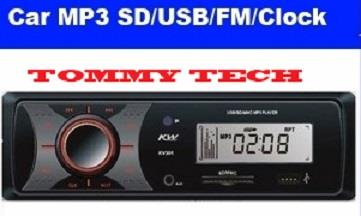 High Quality car player LCD Displayer Car MP3 MP3 with USB port + SD