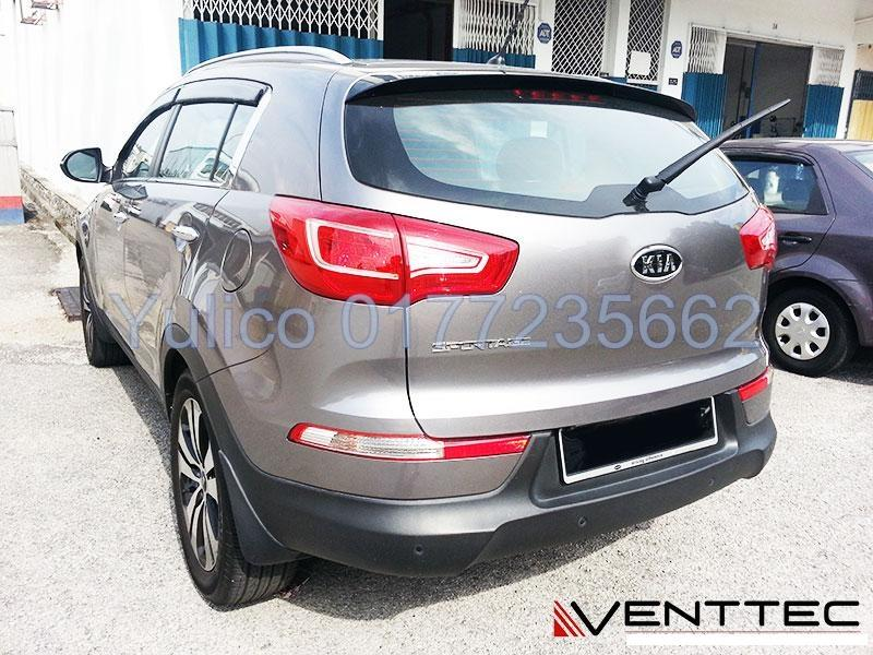 HIGH QUALITY KIA SPORTAGE DOOR VISOR FOR YEAR 10' - '15