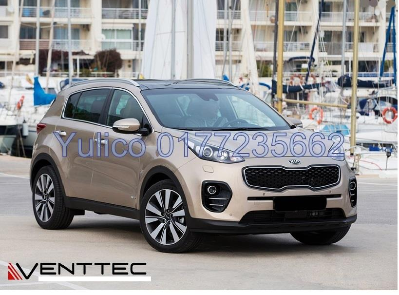 HIGH QUALITY KIA SPORTAGE KX5 (75MM) DOOR VISOR YR '16 & ABOVE