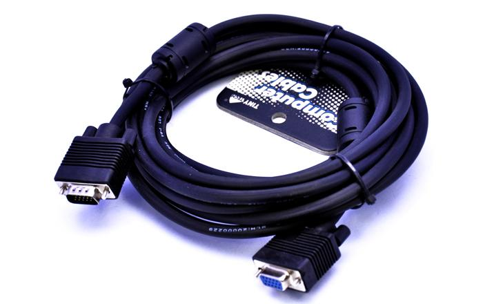HIGH QUALITY RGB/VGA HD15PIN (M) TO (F) EXTENSION CABLE 20M (34/MF20M)