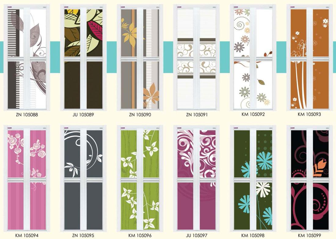 Bathroom Folding Door - purplebirdblog.com -