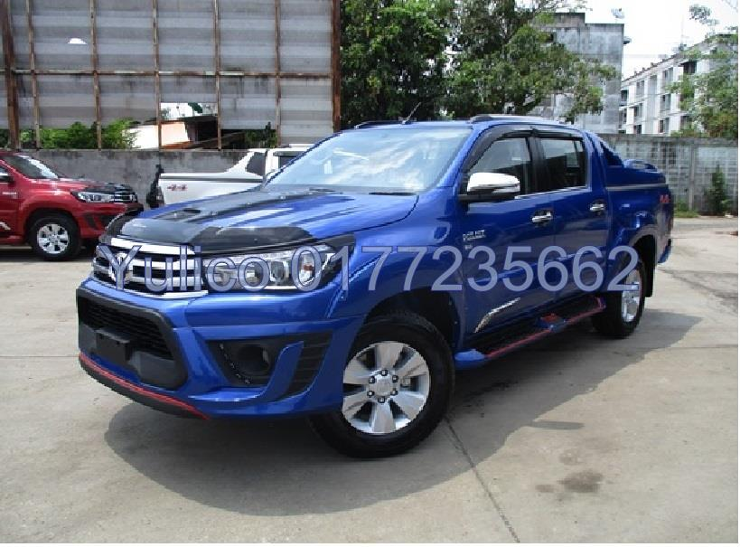 HIGH QUALITY TOYOTA HILUX REVO (4DR)(100MM) DOOR VISOR YR '16 & ABOVE