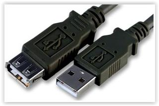 HIGH QUALITY USB AM TO AF EXTENSION CABLE 1.5M (EWIN/PANATEL/VZTEC)