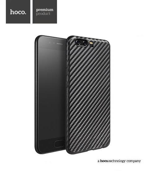 hoco Huawei P10 / P10+ Plus Carbon Fiber Fibre Back Case Cover