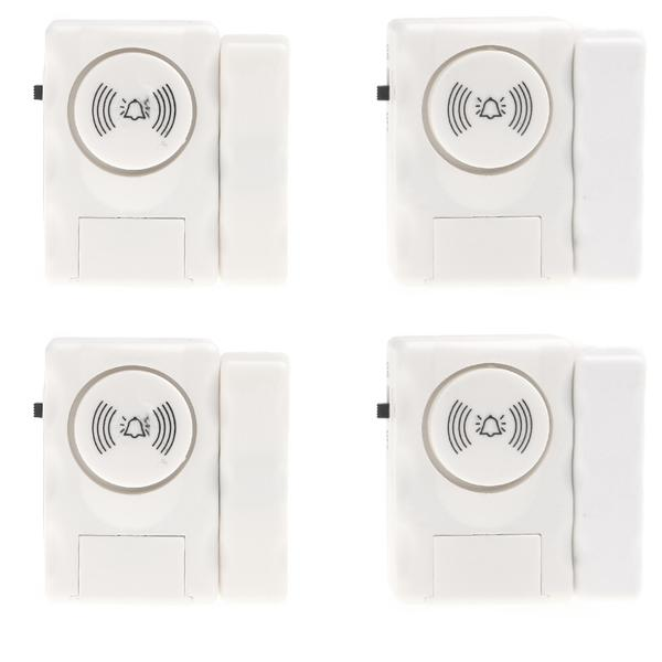 Home Security Entry Alarm Warning System with Magnetic Sensor