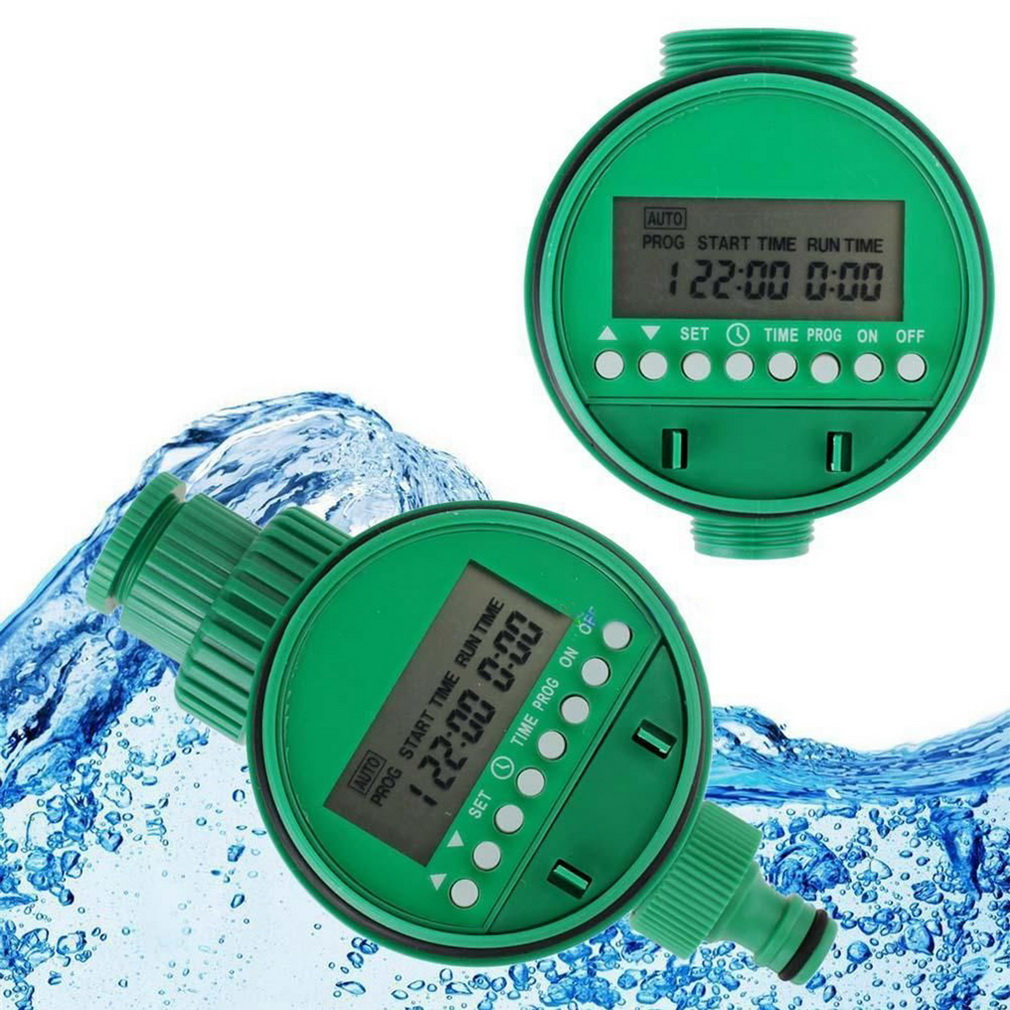 Home Water Timer Garden Irrigation Timer Controller Set Water Programs