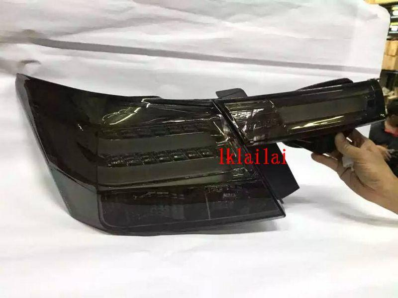 Honda Accord 08-12 LED Light Bar Tail Lamp + Bonnet Lamp Smoke