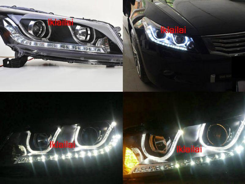 HONDA ACCORD '08 U Style Projector Head Lamp DRL R8