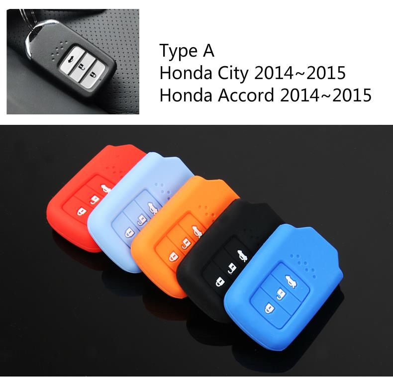 New Honda Accord City Silicone Key Cover