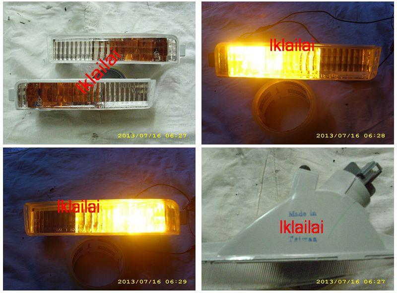 Honda Accord SM4 '90 Front Bumper Signal Lamp White