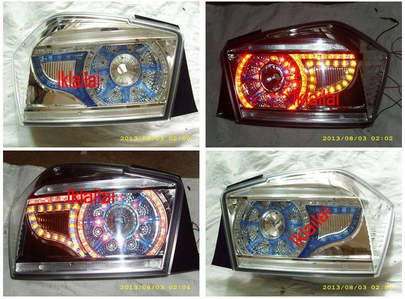 Honda City '09 / '12 LED Tail Lamp [Clear Lens] [1-pair]