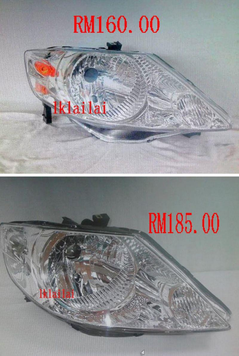 Honda City 2003 OEM Style Head Lamp (RH/LH) 1-Side only