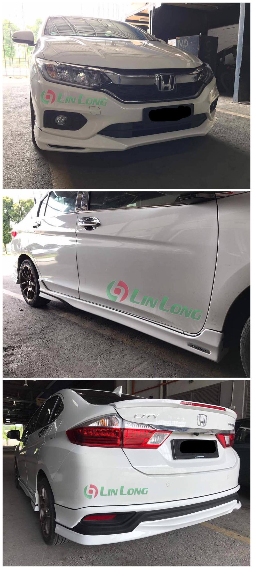 Honda city 2017 modulo bodykit skrit LIP