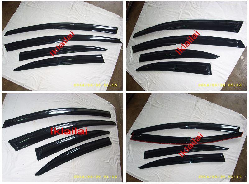 Honda CIVIC '06 Mugen Style Door Visor [4pcs/set]