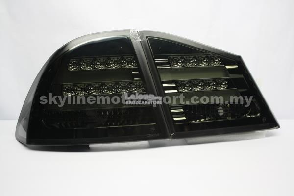 Honda Civic 2006-2010 Led TAIL LIGHT Light Bar Smoke