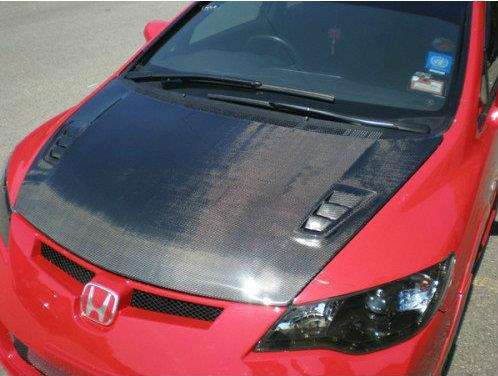 HONDA CIVIC ADVANCE RR BONNET CARBON FIBRE